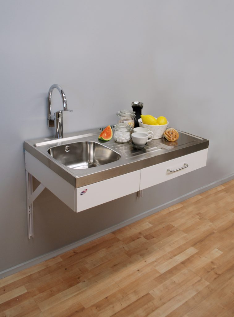 Disabled access kitchen 1 metre wide (Model ref: ETN1083)