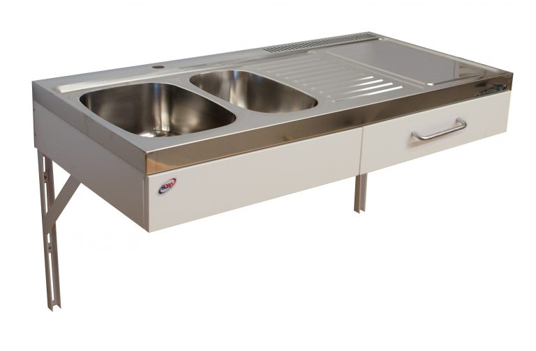 Disabled access kitchen 1.2 metre wide (Model red: ETN1283)