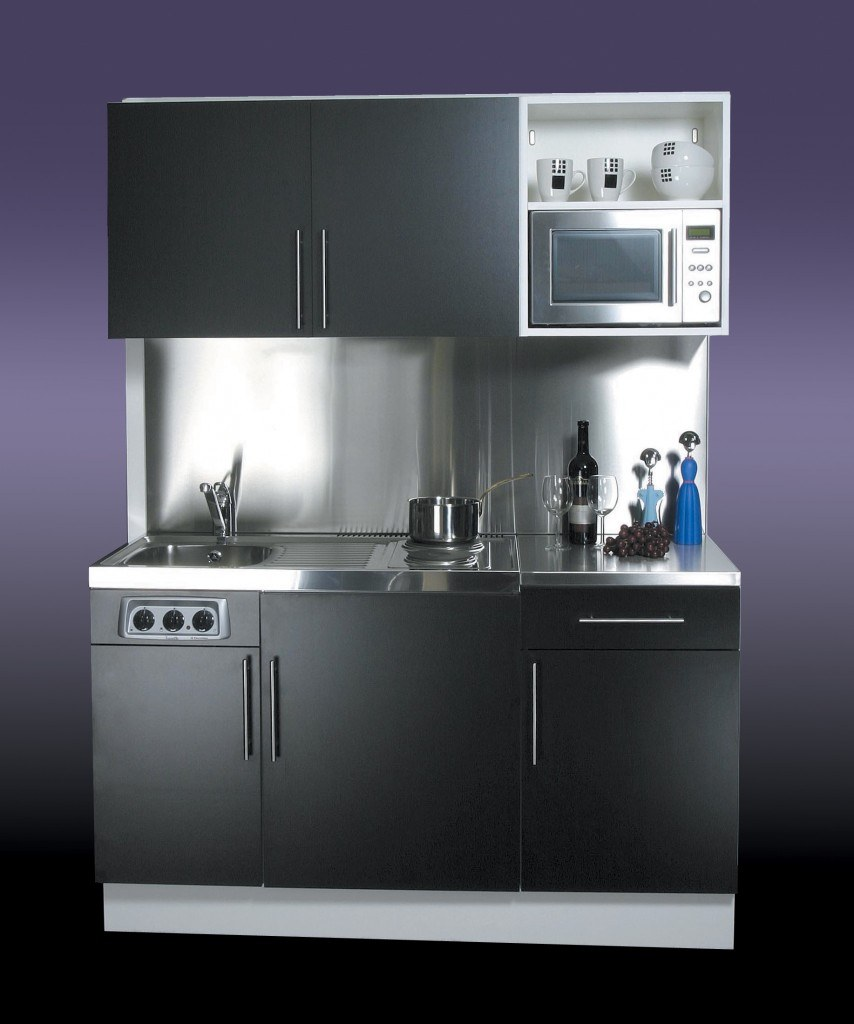 Kitchenettes Mini Kitchens: 1.5m Kitchenette With Hob