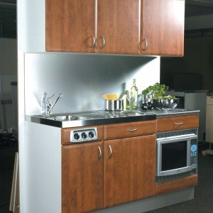 Designer Range Kitchenette in Cherry Finish (Model ref: DOCO54)