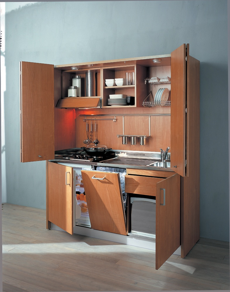 John Strand Italian Hideaway Kitchenette with dishwasher (IITH580)