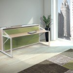 B-ESK Freestanding desk-wall bed - Day