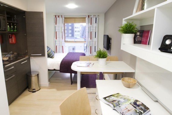Student Accommodation – Whole Room Solutions for Unite