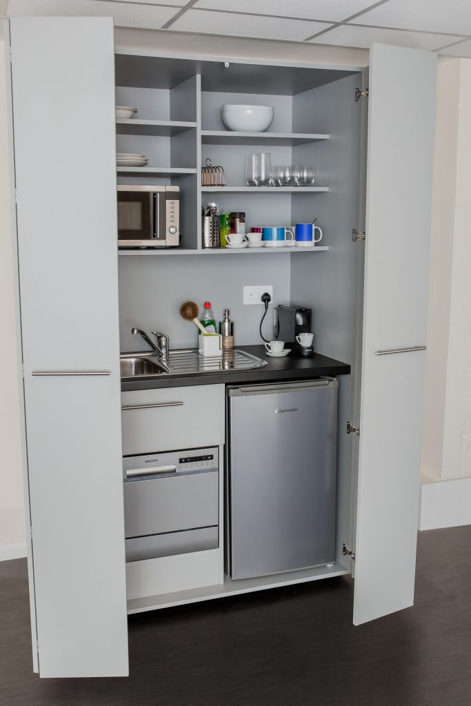 MOD 270 Bi-fold Kitchenette with dishwasher